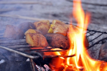 5 foods that are better cooked over an open fire