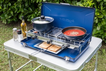 How to eat well using your camping gas stove