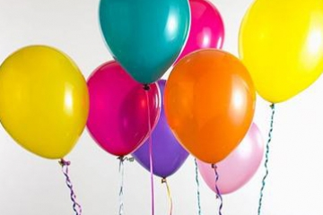 Fill your London wedding with fun: helium gas balloons