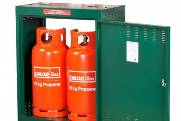 Storing your gas bottles safely