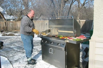 Using gas BBQs in the autumn and winter