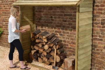 Top tips for storing your logs this winter