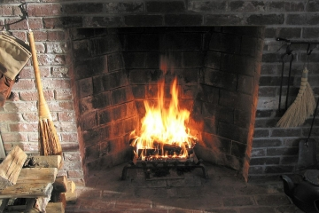 Using your fireplace to heat your home