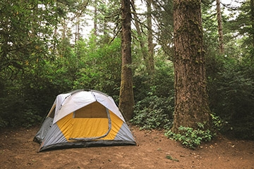 3 tips for camping alone