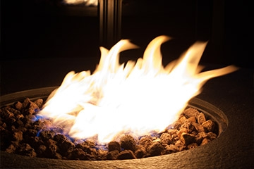 The benefits of a gas powered fire pit