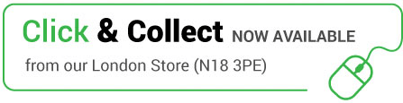 Click & Collect now available from our London store (N18 3PE)